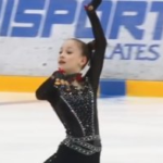 ソフィア・アカチエワ ロシアユース選手権2019 フリー演技 (解説:なし)