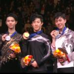 世界選手権2019 男子シングル表彰式 (解説:なし)