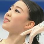 紀平梨花 世界選手権2019 ショート演技 (解説:ロシア語)