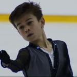 ダニール・サムソノフ JGPバルト杯2019 フリー演技 (解説:英語)