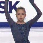 カミラ・ワリエワ JGPチェリャビンスク2019 ショート演技 (解説:英語)