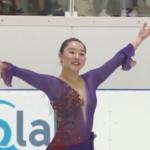 樋口新葉 ロンバルディア杯2019 フリー演技 (解説:なし)