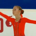 ソフィア・アカチエワ ロシア杯2019第2ステージ フリー演技 (解説:なし)