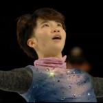 友野一希 スケートアメリカ2019 ショート演技 (解説:ロシア語)