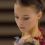 アンナ・シェルバコワ スケートアメリカ2019 ショート演技 (解説:ロシア語)