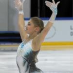 アリョーナ・コストルナヤ フィンランディア杯2019 ショート演技 (解説:フィンランド語)
