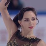 エリザベータ・トゥクタミシェワ 中国杯2019 フリー演技 (解説:スペイン語)