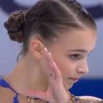 アンナ・シェルバコワ 中国杯2019 フリー演技 (解説:スペイン語)