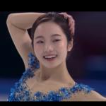 本田真凜 中国杯2019 フリー演技 (解説:スペイン語)