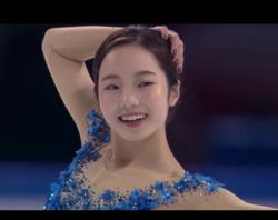 本田真凜 中国杯2019 フリー演技 (解説:スペイン語