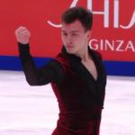 ドミトリー・アリエフ ロステレコム杯2019 ショート演技 (解説:イタリア語)