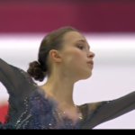 アンナ・シェルバコワ グランプリファイナル2019 ショート演技 (解説:カザフ語)