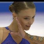 アンナ・シェルバコワ グランプリファイナル2019 フリー演技 (解説:ロシア語)