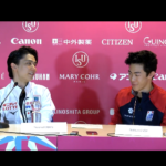 グランプリファイナル2019 男子シングルFS後記者会見 (2019/12/7-英語)