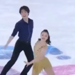 吉田唄菜&西山真瑚 ローザンヌユースオリンピック2020 リズムダンス演技 (解説:英語)