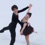 吉田唄菜&西山真瑚 ローザンヌユースオリンピック2020 フリーダンス演技 (解説:英語)