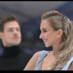 ヴィクトリヤ・シニツィナ&ニキータ・カツァラポフ 欧州選手権2020 リズムダンス演技 (解説:英語)