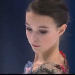 アンナ・シェルバコワ 欧州選手権2020 ショート演技 (解説:英語)
