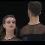 ガブリエラ・パパダキス&ギヨーム・シゼロン 欧州選手権2020 フリーダンス演技 (解説:英語)