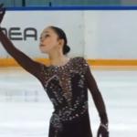 ソフィア・サモデルキナ ロシア杯ファイナル2020 ショート演技 (解説:なし)
