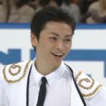 NHK杯2001 男子シングル(本田武史/田村岳斗/岡崎真) ショート演技 (解説:日本語)