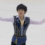 2020年全国高等学校スケート競技選手権大会 男子シングル フリー演技 (解説:日本語)