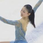 2020年全国高等学校スケート競技選手権大会 女子シングル フリー演技 (解説:日本語)