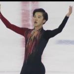 2020年日本学生氷上競技選手権大会 男子シングル フリー演技 (解説:日本語)