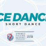 【動画フルVer.】世界選手権2018 アイスダンスショート演技 (解説なし)