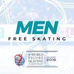 【4月4日19時~再放送予定】世界選手権2018 男子シングルフリー演技 (解説なし)