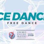 【動画フルVer.】世界選手権2018 アイスダンスフリー演技 (解説なし)
