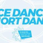 【動画フルVer.】グランプリファイナル2015 アイスダンスショート演技 (解説なし)