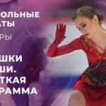 ロシアジュニアテストスケート 男子&女子 ショート演技 (解説:ロシア語)