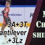 モスクワジュニア選手権2020 女子シングル ショート演技 (解説:なし)