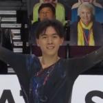 ヴィンセント・ジョウ スケートアメリカ2020 フリー演技 (解説:アメリカ英語)