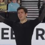 キーガン・メッシング スケートアメリカ2020 フリー演技 (解説:アメリカ英語)