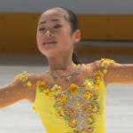島田麻央 全日本ジュニア選手権2020 フリー演技 (解説:日本語)