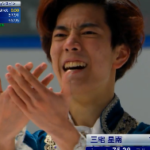 三宅星南 全日本ジュニア選手権2020 フリー演技 (解説:日本語)