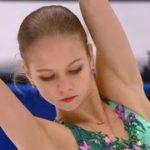 アレクサンドラ・トゥルソワ ロステレコム杯2020 ショート演技 (解説:ロシア語)