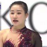 河辺愛菜 NHK杯2020 ショート演技 (解説:英語)