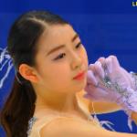 紀平梨花 全日本選手権2020 フリー演技 (解説:日本語)
