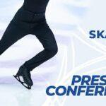 世界選手権2021 男子シングルFS後記者会見 (2021/3/27)