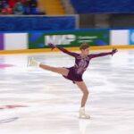 アリョーナ・コストルナヤ ロシア杯ファイナル2021 フリー演技 (解説:ロシア語)