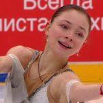 ソフィア・サモデルキナ ロシア杯ファイナル2021 フリー演技 (解説:ロシア語)