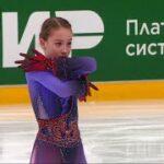 ソフィア・アカチエワ ロシア杯ファイナル2021 フリー演技 (解説:ロシア語)