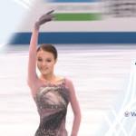 アンナ・シェルバコワ 国別対抗戦2021 フリー演技 (解説:ロシア語)