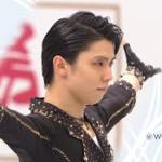 羽生結弦 国別対抗戦2021 ショート演技 (解説:中国語)