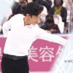 ネイサン・チェン 国別対抗戦2021 ショート演技 (解説:英語)