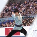 羽生結弦 国別対抗戦2021 フリー演技 (解説:日本語)