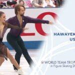 ケイトリン・ホワイエク&ジャン=リュック・ベイカー 国別対抗戦2021 リズムダンス演技 (解説:英語)